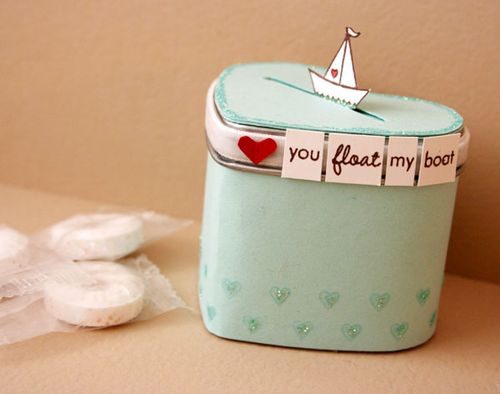 Heart-treat-container
