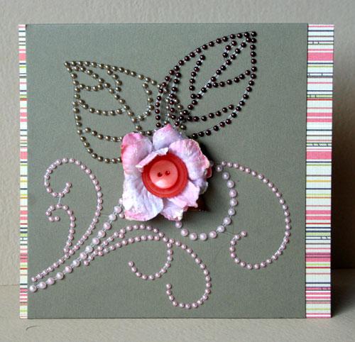 Pink-flower-card